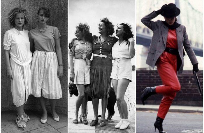 gaya berpakaian 80-an
